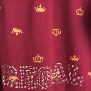 "Mossimo Supply Co ""REGAL"" w/rhinestones jacket"